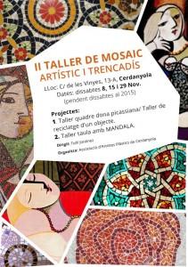 II taller de mosaic artistic i trencadis