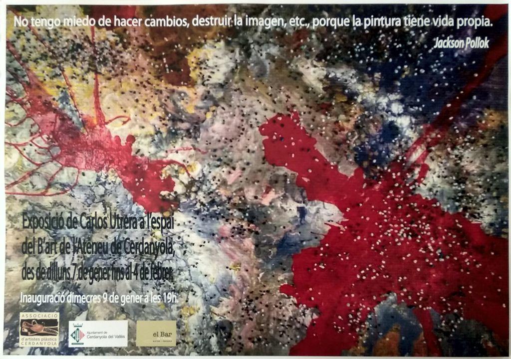 Exposició individual de Manoli Tapias @ Ateneu de Cerdanyola del Vallès · Sala B'Art