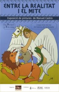 Exposició individual de Manuel Castro @ Ateneu de Cerdanyola del Vallès · Sala B'Art