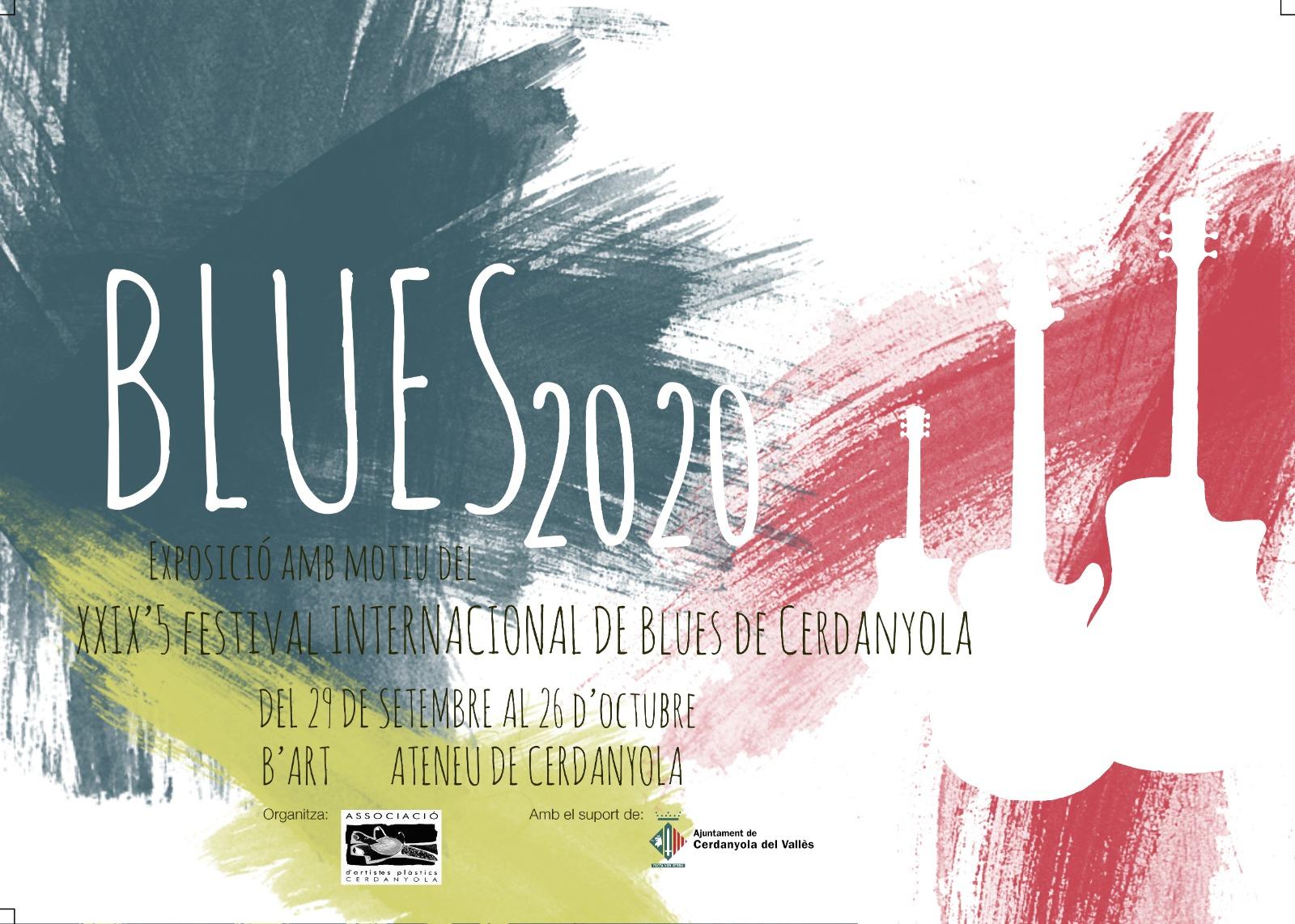 Exposició col·lectiva Festival de Blues de Cerdanyola @ Ateneu de Cerdanyola del Vallès · Sala B'Art