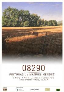 """Exposició individual de Manuel Méndez · """"08290"""" @ Ateneu de Cerdanyola del Vallès · Sala B'Art"""