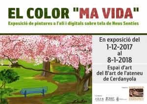 Exposició individual de Neus Senties @ Ateneu de Cerdanyola del Vallès · Sala B'Art