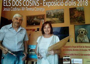 Exposició individual de Jesus Codina i M. Teresa Corretja @ Ateneu de Cerdanyola del Vallès · Sala B'Art