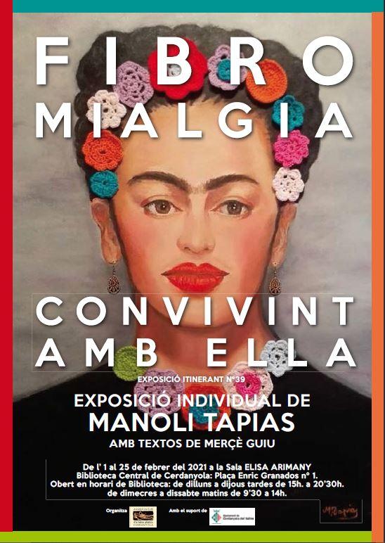 Exposició individual de Manoli Tapias @ Sala Elisa Arimany · Biblioteca de Cerdanyola del Vallès