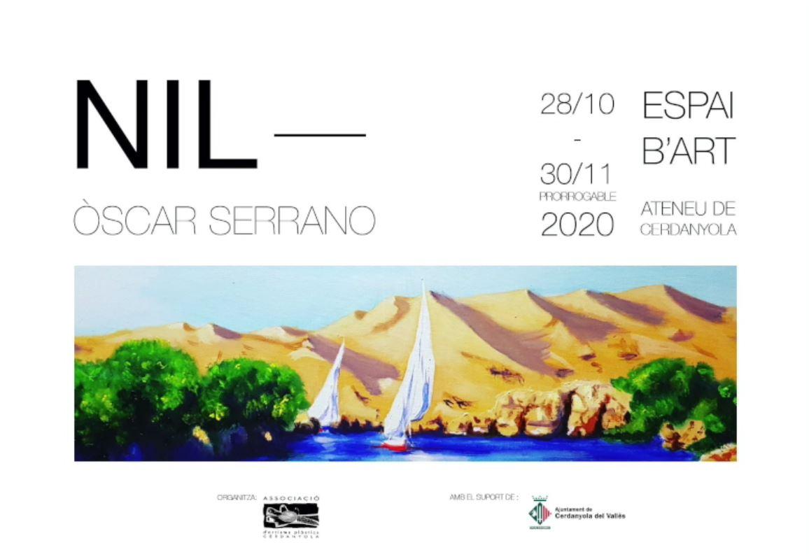 Exposició individual de Óscar Serrano @ Ateneu de Cerdanyola del Vallès · Sala B'Art