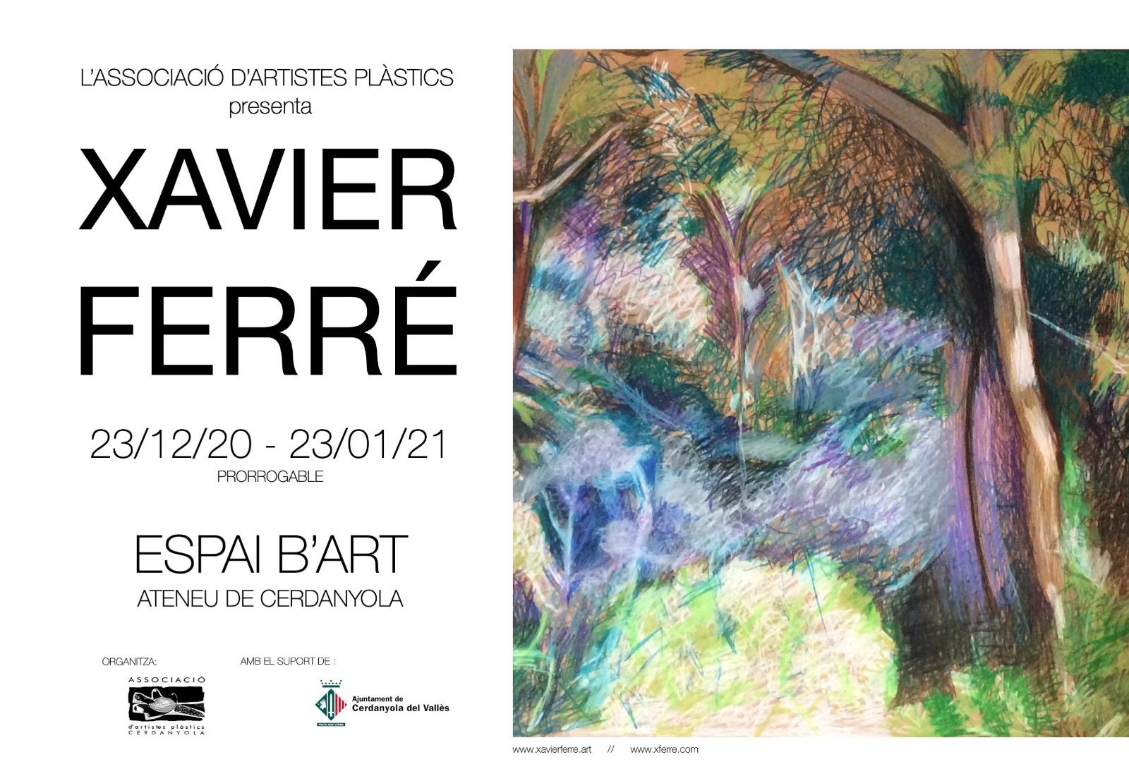 Exposició individual d'Elvira Fernández @ Ateneu de Cerdanyola del Vallès · Sala B'Art