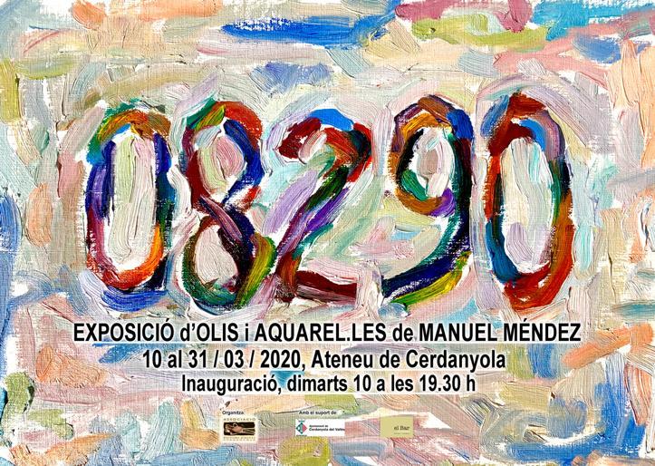 Exposició individual de Manuel Méndez @ Ateneu de Cerdanyola del Vallès · Sala B'Art