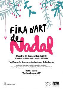 Fira d'art de Nadal 2018 @ Ateneu de Cerdanyola del Vallès