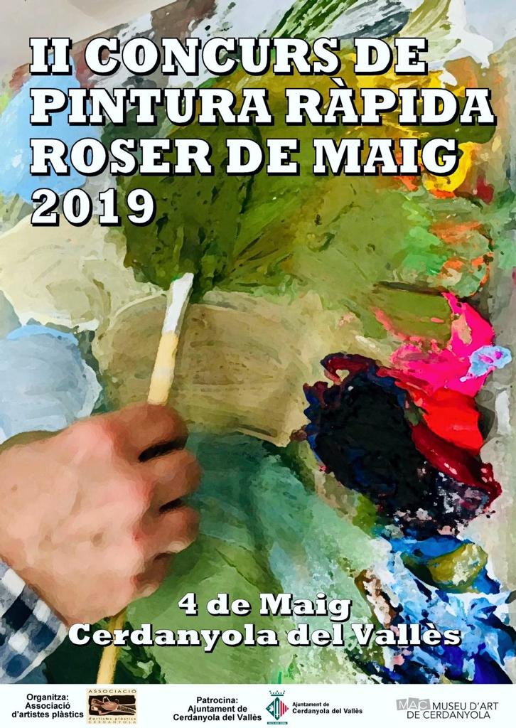 II Concurs de pintura ràpida @ B'Art de l'Ateneu de Cerdanyola del Vallès