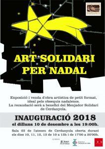 Art solidari per nadal @ Ateneu de Cerdanyola del Vallès · Sala 22