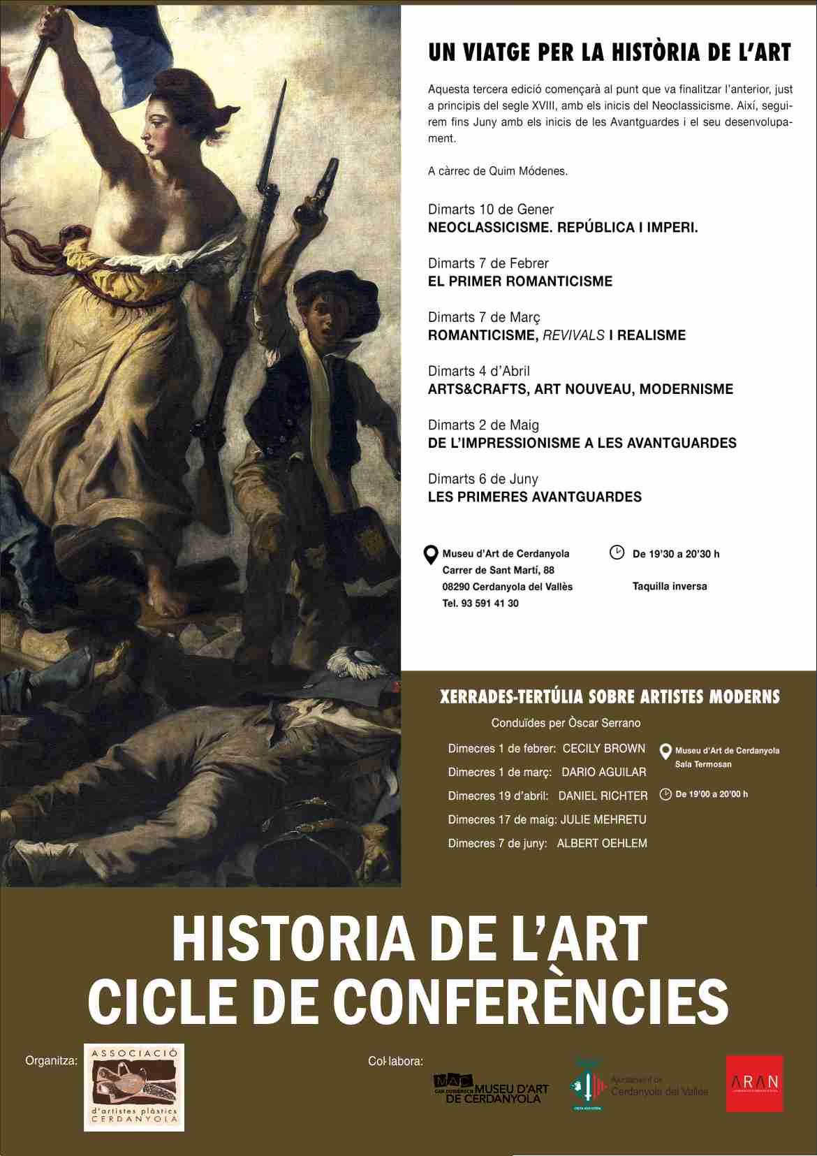 CARTELL ASS HISTORIA DEL ART