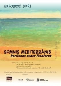 Artista al carrer · Somnis mediterranis @ Sala d'exposicions Biblioteca Central de Cerdanyola