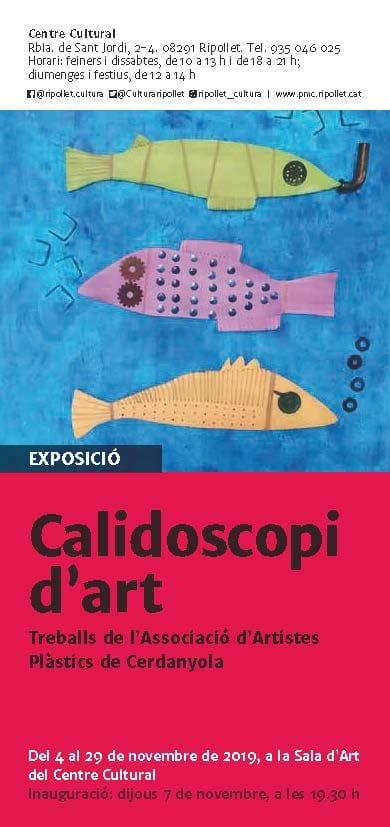 Exposició col·lectiva Calidoscopi d'artistes @ Centre Cultural de Ripollet