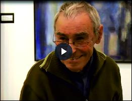 La passió per la pintura d'un jove de 83 anys: Antonio García Iglesias