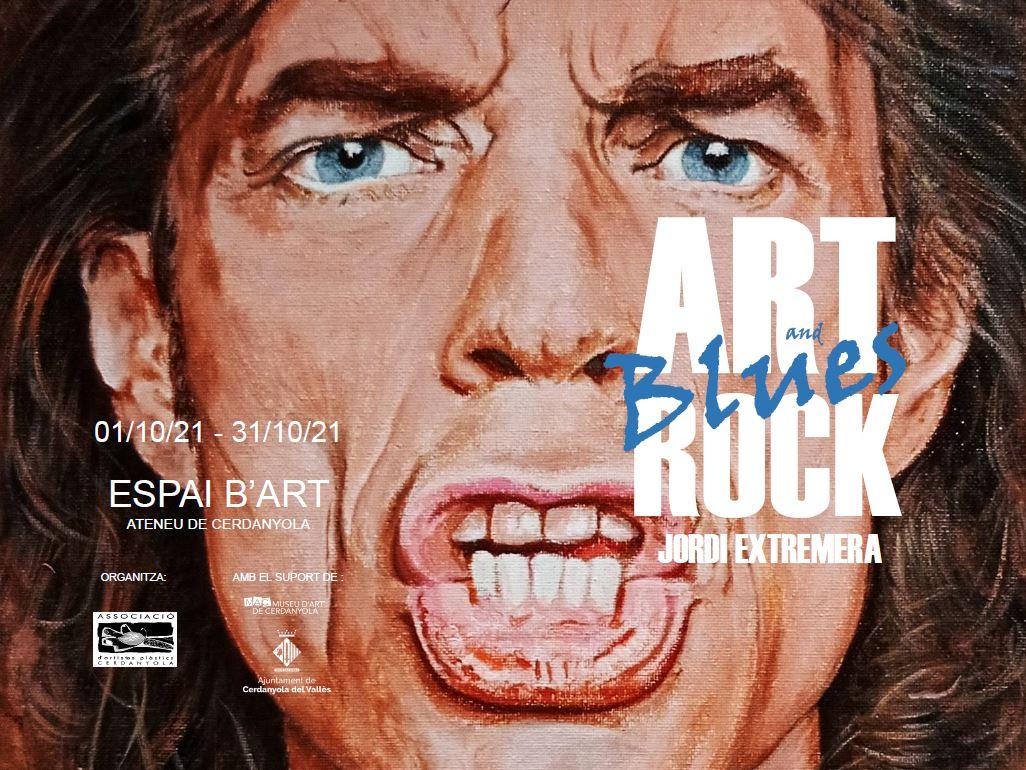 Exposició blues de Jorge Extremera @ Ateneu de Cerdanyola del Vallès · Sala B'Art