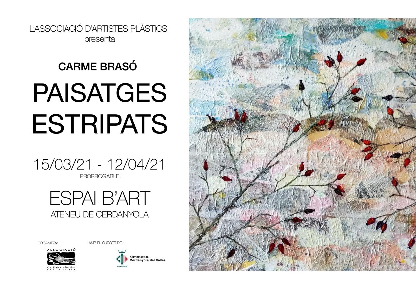 Exposició individual de Carme Brasó @ Ateneu de Cerdanyola del Vallès · Sala B'Art